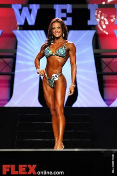 The Figure pro I look up to.  Erin Stern rocks!  Some day....as in like 10 months from now, I will compete in my first figure competition!