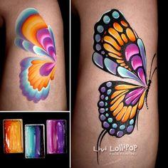 blog-butterfly #stepbystepfacepainting