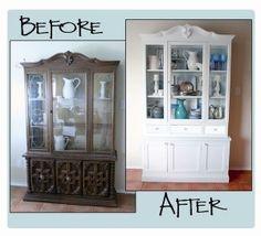 Repeindre un meuble avec la miraculeuse peinture vernis - Comment peindre un lit en bois ...