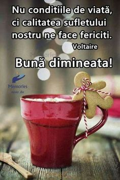 Imagini buni dimineata si o zi frumoasa pentru tine! - BunaDimineataImagini.ro Spiritual Quotes, Just Love, This Or That Questions, Coffee Time, Messages, Feelings, Animals, Inspiration, Spirit Quotes