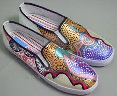 Image result for Painted Shoes