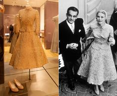 Pictured: the iconic dresses from the Grace Kelly exhibition - hellomagazine.com