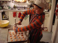 #Unschoolers know their way around a kitchen. #unschooling #OnBradstreet