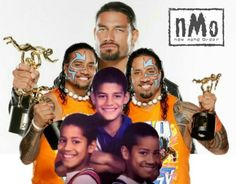 Roman Reigns Jimmy & Jey USO w