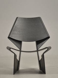 GJ chair by Grethe Jalk (1920-2006). Black stained ash tree. Perfection.