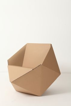 P3 - DIAMOND // CARDBOARD // CHAIR by Lia Tzimpili, via Behance