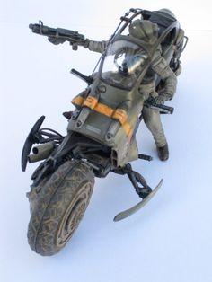 K. Futuristic Motorcycle, Scooter Motorcycle, Sci Fi Models, Tac Gear, Maker, War Machine, Dieselpunk, Custom Bikes, Plastic Models