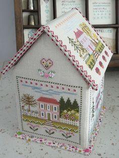 Great idea!!!!!!! les maisons de Maryse