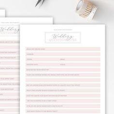 Wedding Photography Checklist template Wedding photographer | Etsy Wedding Checklist Template, Orchid Wedding Cake, Wedding Season, Wedding Day, Weekly Cleaning Checklist, Wedding Photography Checklist, Templates, Words, Etsy