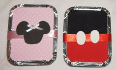 Marmitinhas  Mickey e Minnie | Cuties by Katia Fraga | 223AAE - Elo7