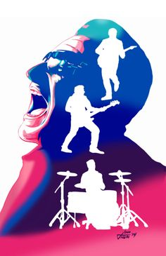 Songs Of Innocence Echoes Apple iTunes by jovigolf on DeviantArt Pop Rock, Rock N Roll, U2 Poster, U2 Band, U2 Songs, Songs Of Innocence, Irish Rock, Tour Posters, Music Posters