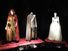 Original Once Upon a Time costumes: Red, Charming, Snow's wedding gown