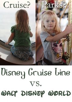 Disney Cruise Line vs Walt Disney World: Weighing the advantages of each to help with your decision