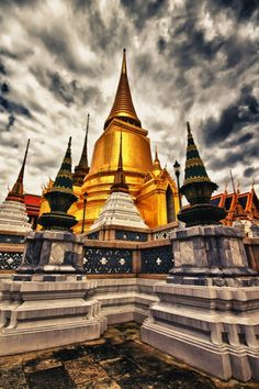 Wat Phra Kaew in Bangkok is largely considered to be the most sacred Buddhist temple in Thailand. {sorry, source was reported as spam}