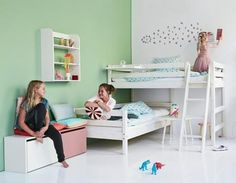Flexa Semi High Bed with Slanting Ladder                                                                                                                                                                                 More