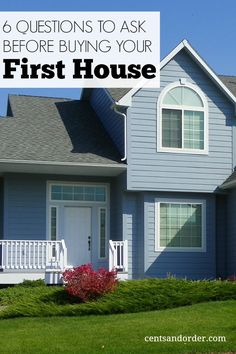 Buying Your First Home? 6 Financial Questions To Ask First - House Buying - Factors affect Home buying process - First time home buyer? You'll want to ask yourself these questions to be financially prepared for the costs of home ownership. Home Buying Tips, Buying Your First Home, Home Buying Process, First Time Home Buyers, Real Estate Tips, Home Ownership, Home Hacks, Ibiza, Sweet Home