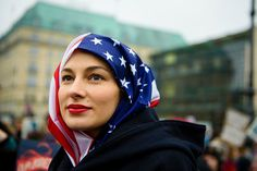 Thank you for marching and inspiring us to continue fighting for our rights.  Berlin | 32 Of The Most Powerful Photos Of Women's Marches Around The World
