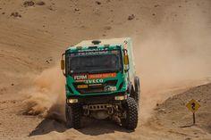 2013 Dakar Iveco Truck Rallying