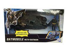 Batman Dark Knight Rises Exclusive Vehicle Batmobile with...