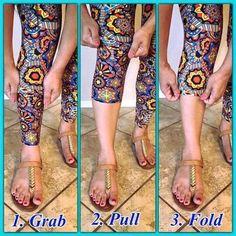 Adjust the leg to suit your fashion statement for the day!  ADULT LEGGINGS Our leggings are ultra stretchy and super soft. They're as close to your own skin as you can get with all the perks of, ahem, not being naked. You can sport them at your favorite Pilates class or throw on some cute booties and wear them out for a girls night! Your LuLaRoe leggings will be a great statement piece wherever you are!  Shop LuLaRoe with Tamara Feather at https://www.facebook.com/groups/703261596502999/