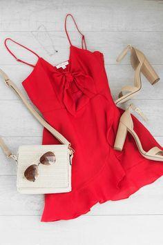 Destination Sun Dress - Red #lovepriceless