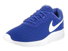 Nike Men's Tanjun Game Royal/White Running Shoe 10 Men Us