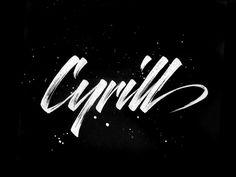 Cyrill's Logo- WIP 02