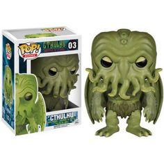 Funko Pop! Books: Hp Lovecraft - Cthulhu, Multicolor