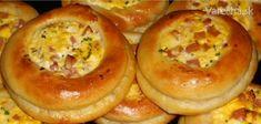 sk - recepty a videá o varení Bread Baking, Bagel, Baked Potato, Pizza, Potatoes, Breakfast, Ethnic Recipes, Basket, Fine Dining