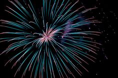 Fireworks display in Raymore, Missouri