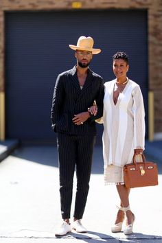All the Best Street Style Outfits from Fall 2015 New York Fashion Week Best Street Style, Nyfw Street Style, Autumn Street Style, Cool Street Fashion, Street Styles, Couple Look, Couple Style, Fashion Couple, Look Fashion