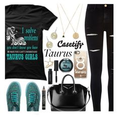 """""""CASETIFY - FOREVER TAURUS"""" by deborah-calton ❤ liked on Polyvore featuring River Island, Aéropostale, Casetify, Givenchy, Vans, Bobbi Brown Cosmetics and L'Oréal Paris"""