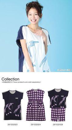 d30714c72eb4a (ナルエー)Narue パジャマ 天竺 ペンギン プリント ルームウェア Tシャツ 半袖 ワンピース(NV-ネイビー、M-   服&ファッション小物通販