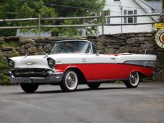 1957 Chevrolet Bel Air Convertible Fuel Injection