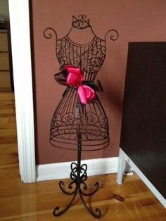 Mannequin Dress Wrought Iron Stand, just like the stand ive been wanting from hobby lobby