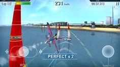 Red Bull Air Race The Game: captura de tela