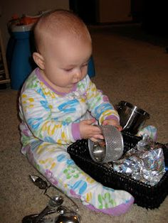 infant Montessori basket ideas