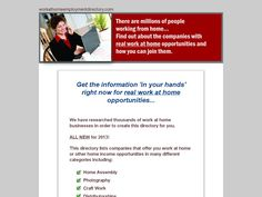 Try Work At Home Directory Now- http://www.vnulab.be/lab-review/work-at-home-directory