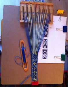 Sami 2 slot weaving reed