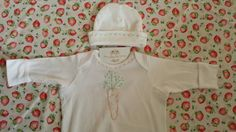 Check out this item in my Etsy shop https://www.etsy.com/listing/229532196/hand-embroidered-baby-gown-and-matching