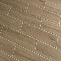 Style Selections Serso Wheat Glazed Porcelain Floor Tile (Common: 6-in x 24-in; Actual: 5.75-in x 23.75-in)