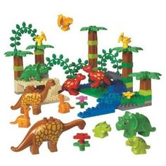 Lego Duplo Dinosaur Set-- This will NO DOUBT be my son's favorite!  #LegoDuploParty