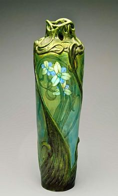 Art Nouveau Vase – Edmond Lachenal, 1900  The Indianapolis Museum of Art