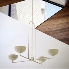 4 Bowl Pendant With Arch - Anna Charlesworth Home Lighting, Lighting Design, Pendant Lighting, Park Lighting, Pendant Chandelier, Home Interior, Interior Decorating, Interior Architecture, Interior Design