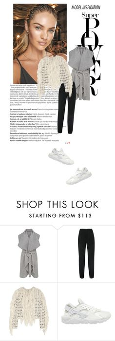 """""""∞ model inspiration?"""" by andrea-moen ❤ liked on Polyvore featuring Balmain, French Connection, Lanvin and NIKE"""