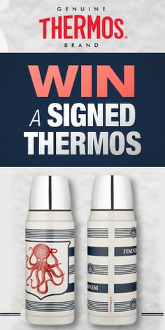 Win a Signed Thermos