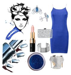 """Bling!"" by klm62 ❤ liked on Polyvore featuring Boohoo, Michael Antonio, Maria Dorai Raj, Disney, Edie Parker and Bobbi Brown Cosmetics"