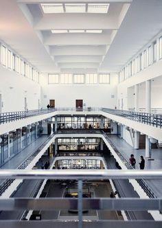 Hôtel de Ville de Boulogne-Billancourt, architecte : Tony Garnier