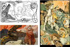 Aesir & Vanir: Gods & Goddesses of the Vikings Classical Mythology, Norse Mythology, Viking Tattoo Design, Viking Tattoos, Valhalla Viking, Lagertha, Mixed Emotions, Gods And Goddesses, Deities