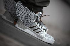 adidas Originals by Jeremy Scott JS Wings 2.0 Metallic Silver